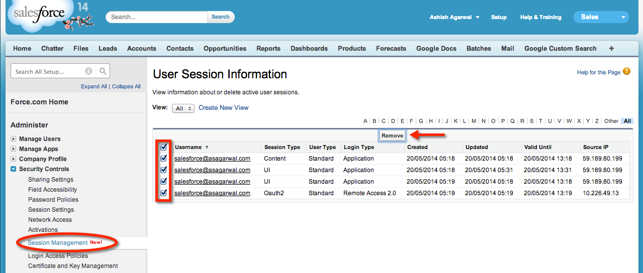 View (and kill) Active Sessions in Salesforce